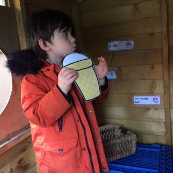 Selling Icecreams At Little Owls Dereham (7)