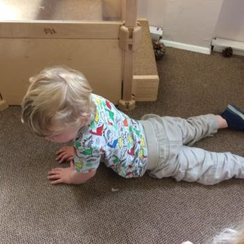 Practising Yoga At Little Owls Day Nursery (6)