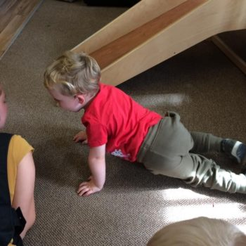 Practising Yoga At Little Owls Day Nursery (9)