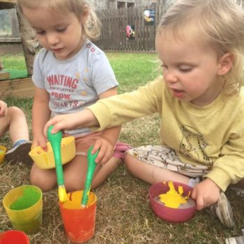 Sensory Play At Little Owls Day Nursery Norfolk (1)