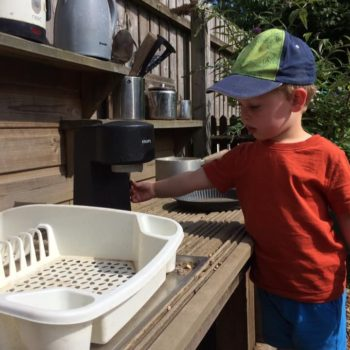 The Mud Kitchen At Little Owls Day Nursery (1)