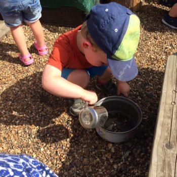 The Mud Kitchen At Little Owls Day Nursery (2)