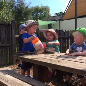 The Mud Kitchen At Little Owls Day Nursery (3)