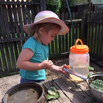 The Mud Kitchen At Little Owls Day Nursery (4)
