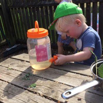 The Mud Kitchen At Little Owls Day Nursery (5)