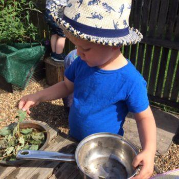 The Mud Kitchen At Little Owls Day Nursery (6)