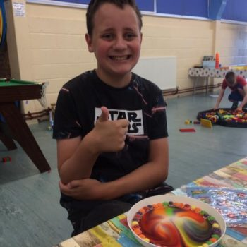 Using Our Minibeast Pots At Hoots Summer Holiday Club Norwich Norfolk (10)