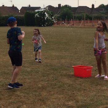 Using Our Minibeast Pots At Hoots Summer Holiday Club Norwich Norfolk (14)