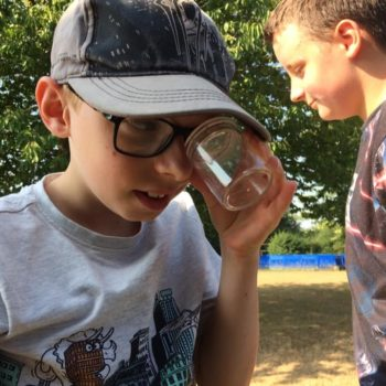 Using Our Minibeast Pots At Hoots Summer Holiday Club Norwich Norfolk (21)