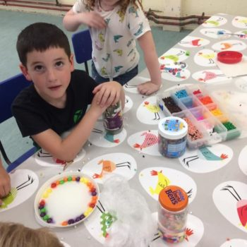Using Our Minibeast Pots At Hoots Summer Holiday Club Norwich Norfolk (28)