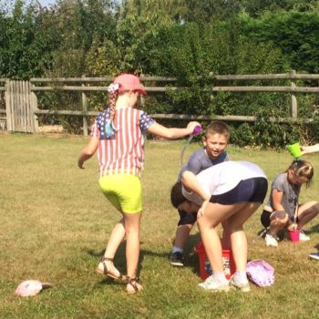 Using Our Minibeast Pots At Hoots Summer Holiday Club Norwich Norfolk (4)