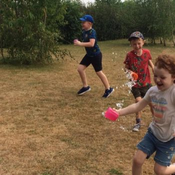 Using Our Minibeast Pots At Hoots Summer Holiday Club Norwich Norfolk (6)