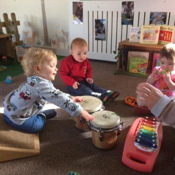 Little Owls Nursery Near Norwichplay Musical Instruments (1)