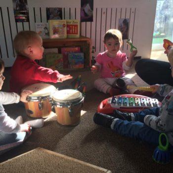 Little Owls Nursery Near Norwichplay Musical Instruments (3)