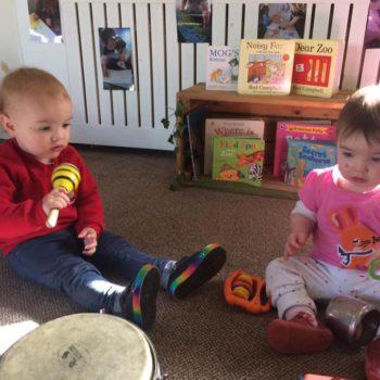 Little Owls Nursery Near Norwichplay Musical Instruments (5)
