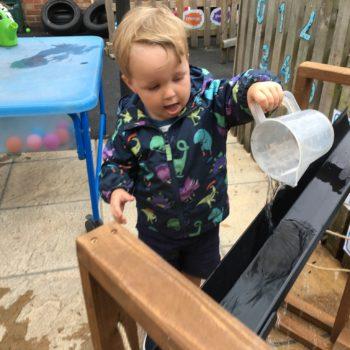 New Garden Equipment At Little Owls Day Nursery Dereham Norfolk (1)