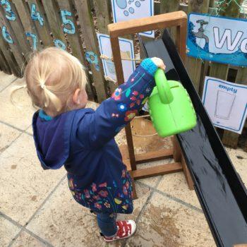 New Garden Equipment At Little Owls Day Nursery Dereham Norfolk (2)