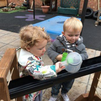 New Garden Equipment At Little Owls Day Nursery Dereham Norfolk (4)