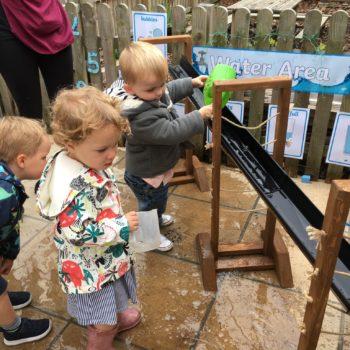 New Garden Equipment At Little Owls Day Nursery Dereham Norfolk (5)