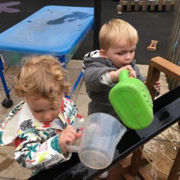 New Garden Equipment At Little Owls Day Nursery Dereham Norfolk (8)