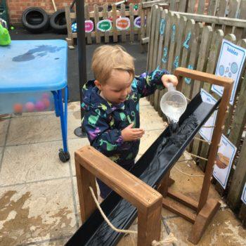 New Garden Equipment At Little Owls Day Nursery Dereham Norfolk (9)