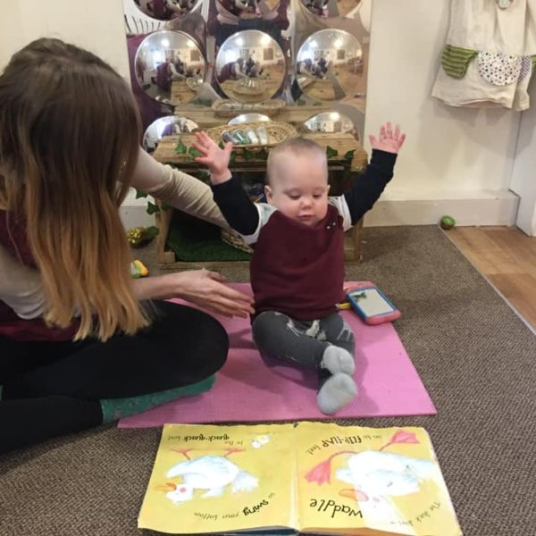Animal Yoga At The Nursery (5)