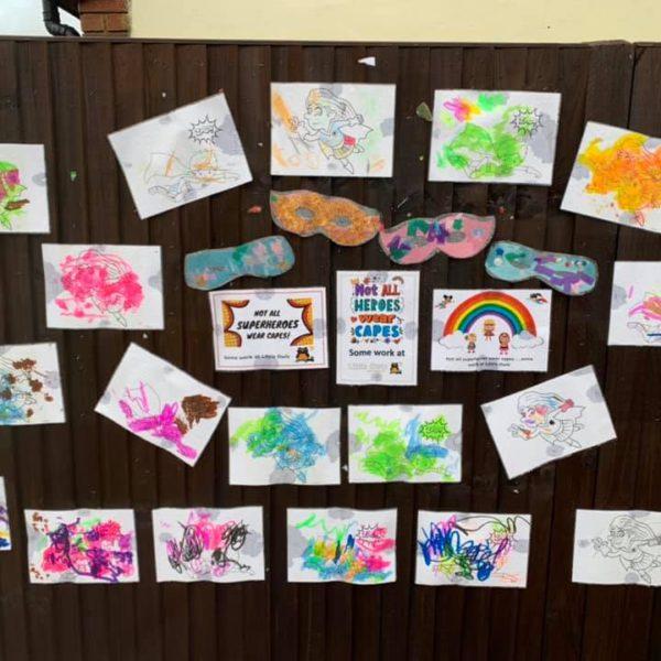 Colourful Artwork Display (2)