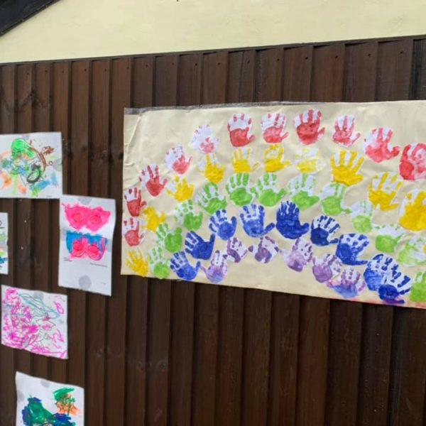 Colourful Artwork Display (3)