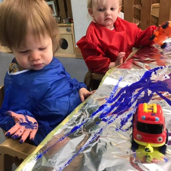 Painting With Diggers (1)