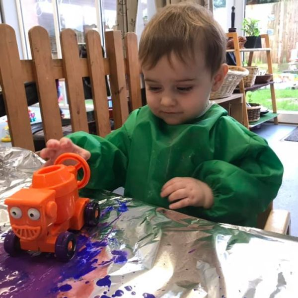 Painting With Diggers (2)