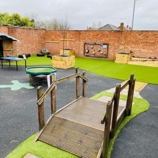 Gorgeous Outside Play Area At Little Owls Playgroup Norfolk (13)