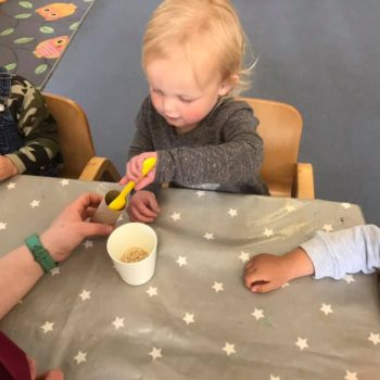 Musical Shakers Being Made At Little Owls (2)