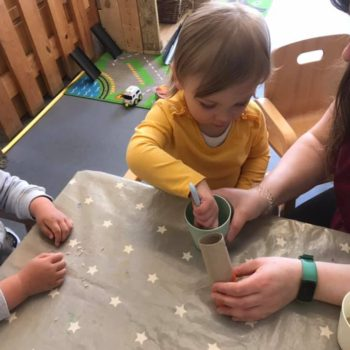 Musical Shakers Being Made At Little Owls (3)
