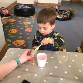 Musical Shakers Being Made At Little Owls (4)