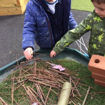 Ribbon Wands At Little Owls Childcare Near Norwich (2)