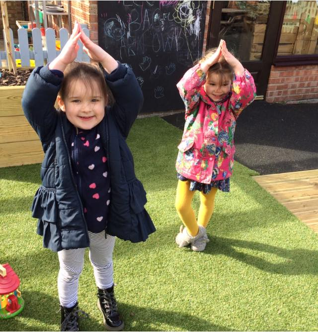 Some Yoga Moves From The Little Owls (3)
