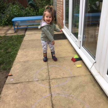 Bean Bag Tossing At Little Owls Dereham Childcare In Norfolk (1)
