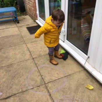 Bean Bag Tossing At Little Owls Dereham Childcare In Norfolk (3)