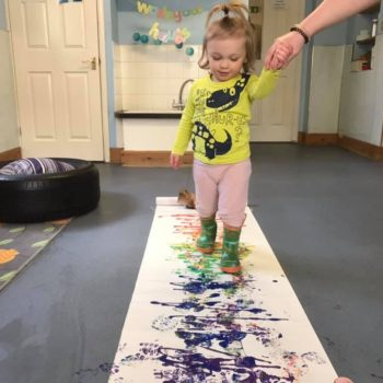 Making Rainbows At Little Owls Baby Care In Norfolk (1)