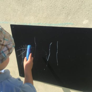 Chalk Board Art At Little Owls Childcare In Norfolk (5)