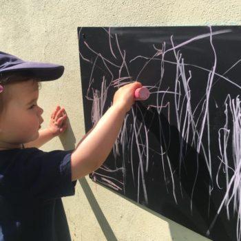 Chalk Board Art At Little Owls Childcare In Norfolk (6)