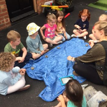 Creating Clay Pots At Little Owls Childrens Nursery In Norfolk (1)