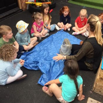 Creating Clay Pots At Little Owls Childrens Nursery In Norfolk (2)
