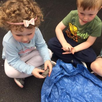 Creating Clay Pots At Little Owls Childrens Nursery In Norfolk (3)