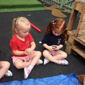 Creating Clay Pots At Little Owls Childrens Nursery In Norfolk (4)