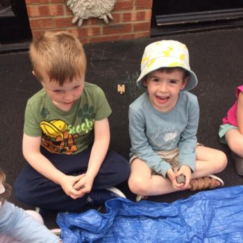 Creating Clay Pots At Little Owls Childrens Nursery In Norfolk (5)