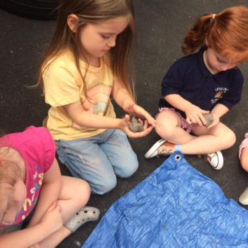 Creating Clay Pots At Little Owls Childrens Nursery In Norfolk (6)