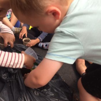 Making Clay Pots At Little Owls Childcare Near Swaffham (1)