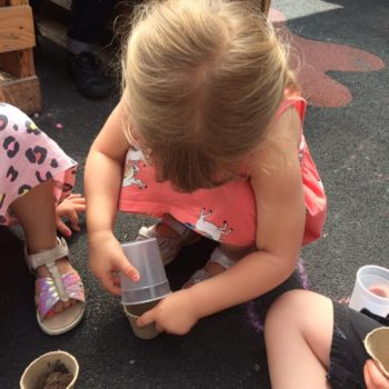 Making Clay Pots At Little Owls Childcare Near Swaffham (10)