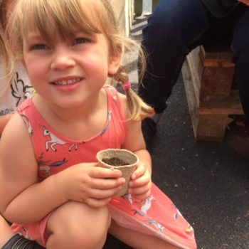 Making Clay Pots At Little Owls Childcare Near Swaffham (2)